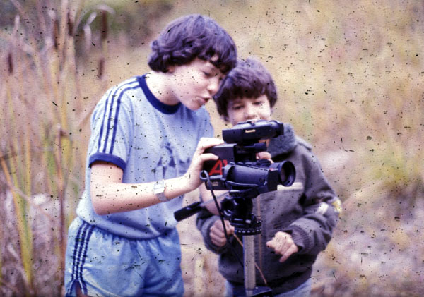 1984: Erste Videokamera, erster Film mit der Itinger Dorfjugend