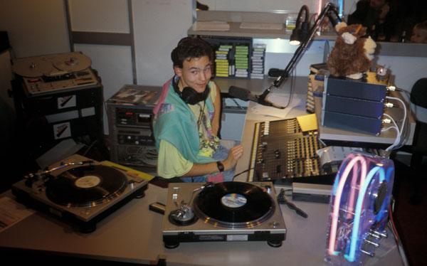 1989, Radio Raurach: Moderation an der Basler Herbstmesse